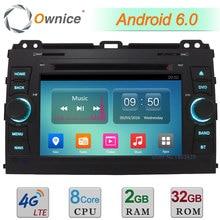 Android 6.0 Octa Core 2GB+32GB 4G DAB Car DVD Radio Player For Toyota Land Cruiser Prado 2002 2003 2004 2005 2006 2007 2008 2009