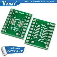 10 шт. TSSOP16 SSOP16 SOP16 для DIP16 плата для передачи DIP Pin плата Pitch адаптер PCB