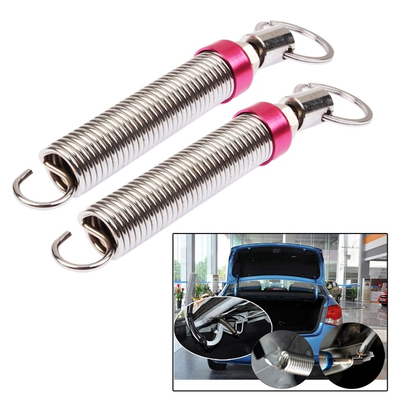 Back To Search Resultshome 2pcs/lot Stainless Steel Car Trunk Lid Spring Automatic Lifting Device Remote Control To Open Rear Lift Adjustable Springs Lovely Luster