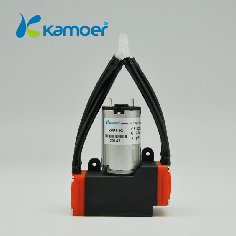 Kamoer 12V/24V KVP8 mini diaphragm vacuum pump micro air pump with DC motor with high nagative pressure/Vacuum degree micro diaphragm vacuum pump with dc motor mini air pump 12v 24v with high nagative pressure vacuum degree r kamoer kvp8 plus