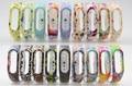 2017 lemse substituir correia para xiaomi mi banda 2 miband 2 pulseiras para banda 2 inteligente pulseira 10 cores para xiomi xiaomi mi banda 2
