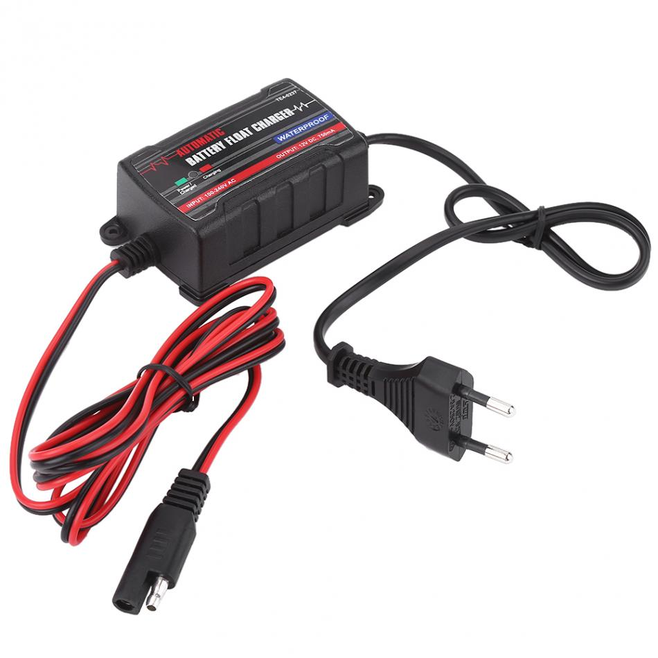 0.75A 6V 12V Automatic <font><b>Battery</b></font> <font><b>Trickle</b></font> <font><b>Charger</b></font> Maintainer for <font><b>Car</b></font> Motor ATV RV (European Plug) <font><b>Battery</b></font> <font><b>Charger</b></font> Charging image
