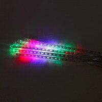 Top Sale 8pcs Lot 50cm DIY LED Meteor Shower Rain Tube Lights Outdoor Landscape Lighting Garlands