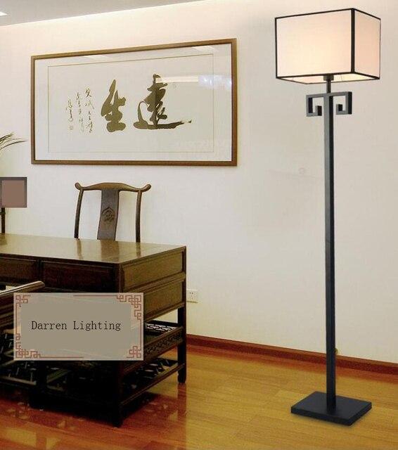 Nuovo Cinese lampada da terra moderna camera da letto semplice ...