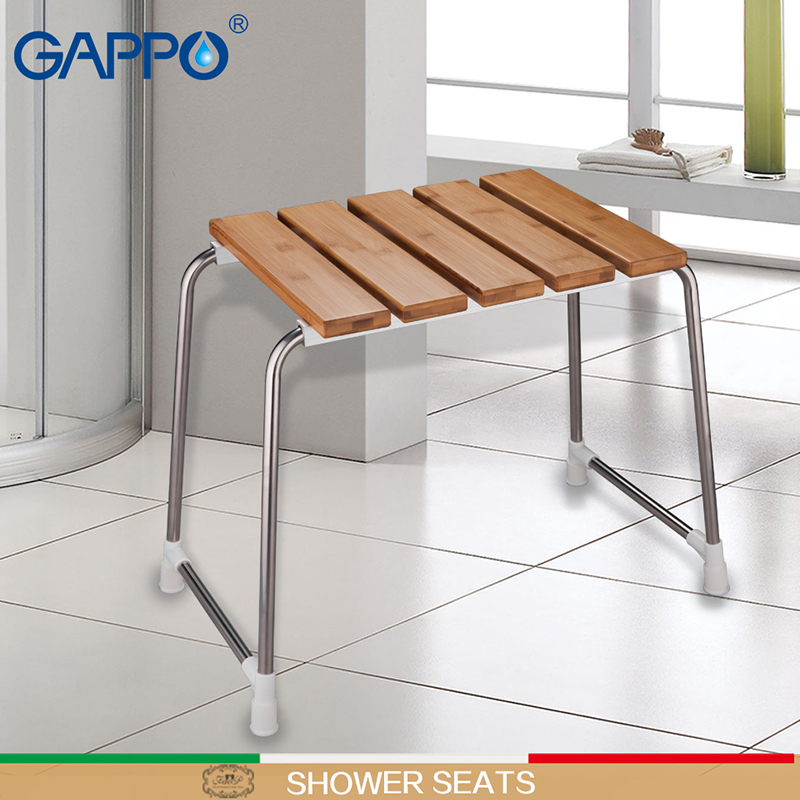 GAPPO Wall Mounted Shower Seats folding shower seat chair bench ...
