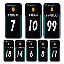European Football RONALDO MODRIC KROOS Jersey style Real Madrid Custom Names and Numbers case for iPhone 8 Phones cases
