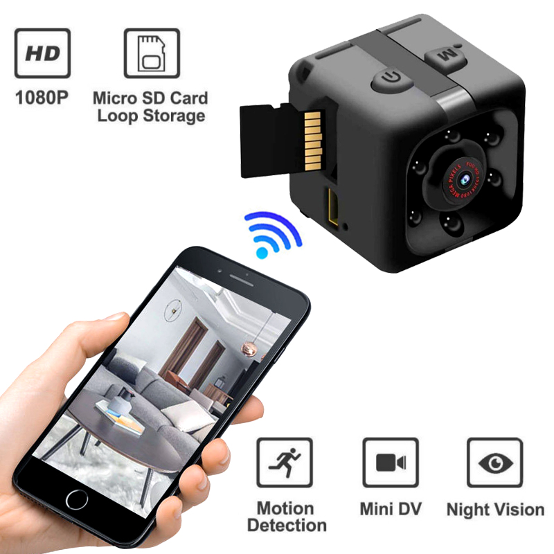 Eshowee 480P 640*480 DV Micro Sport Camera Car DVR Night Vision Video Voice Recorder