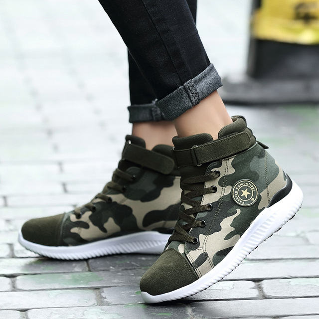 2018 top Sports shoes military green women camouflage shoes female couple  running shoes air force Sneakers zapatos mujer f30fbd8242