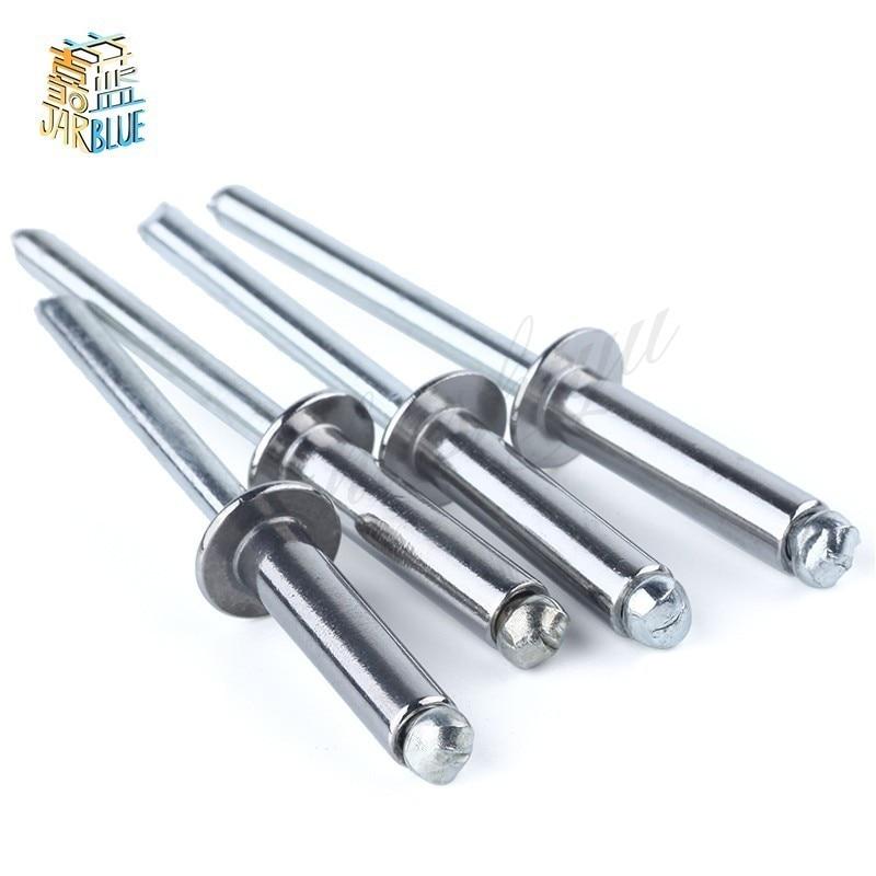 30pcs 20pcs M5*8/11/13/16/20/25/30/35/40 M6*13/16 M4*20/25 Nail Decoration Aluminium Blind Rivets Pop Rivet стоимость
