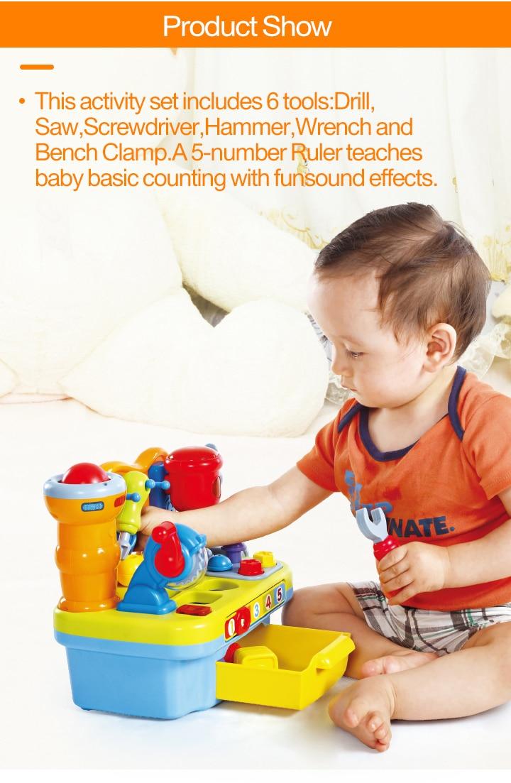 HUILE TOYS 907 Baby Toys Workshop Brinquedos Bebe Juguettes Infant ...