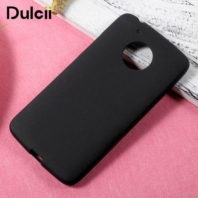 efae1e92bdb Dulcii para Motorola Moto G5 Fundas para móviles mate piel suave TPU  teléfono móvil bolsa caso