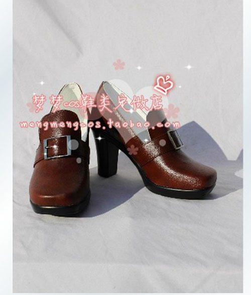 Haute qualité Black Butler Ciel Phantomhive Cosplay chaussures Cover Version