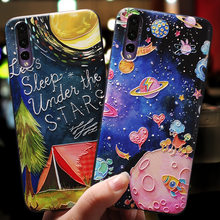 New Arrival Protective Phone Case For Huawei Nova 2 2S 2 Plus Fashion Sky Cat Patterned TPU Phone Case For Huawei Nova 3e 3 3i(China)