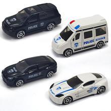 Kids Mini Simulate Alloy Car Modeling Sliding Puzzle Toy Random Style
