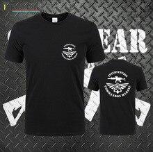 2019 Fashion Hot sale Russian Intervention Commandos Marine T-Shirt Swat Military Tee shirt