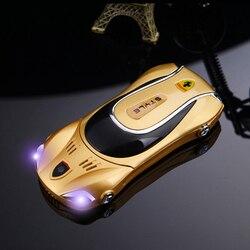 F1 F3 mini carro barato gsm original do telefone móvel de metal china Telefone novidade FM Telefones Celulares de teclado Russo telefone celular h-móvel