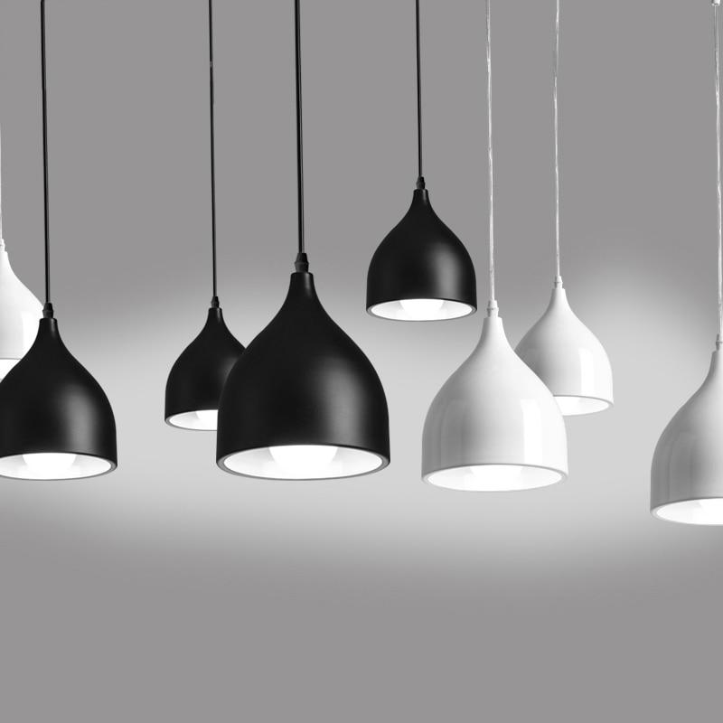 Ziemeļvalstu piekaramie piekaramie lukturi, 90V - 265V E27 - Iekštelpu apgaismojums