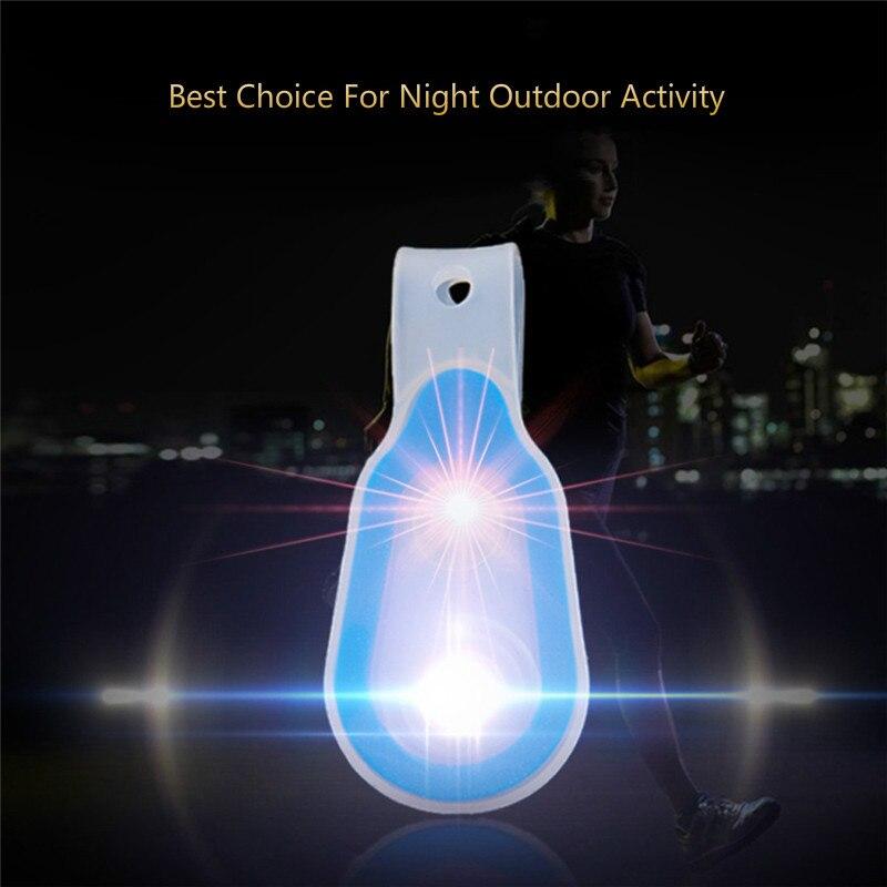 5 цветов Портативный мягкий силиконовый лампы силиконовые магнит светодиодный воротник лампы легкий ночной бег Велоспорт безопасности и А...