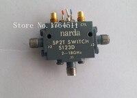 [SA] Narda S123D 2 18 ГГц SPDT РФ Печь полупроводниковые переключатель 12 В SMA