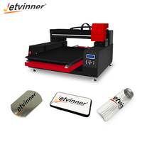 Jetvinner Automatic 12 color Large Format UV Printer with varnish effect for phone case, metal, bottle, TPU, PVC card, Acrylic