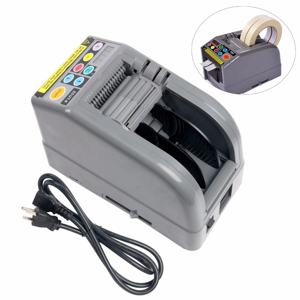 ZCUT-9 Hot sale 2018 automatic tape dispenser /wide 60MM tape cutting machine 2 rolls at a time. Клейкая лента