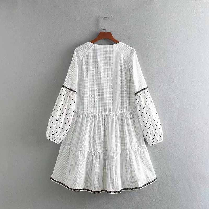 Popular novo Vestido De Festa de Algodão Plus Size Moda Europeus E Americanos Vestido Cc55-9098