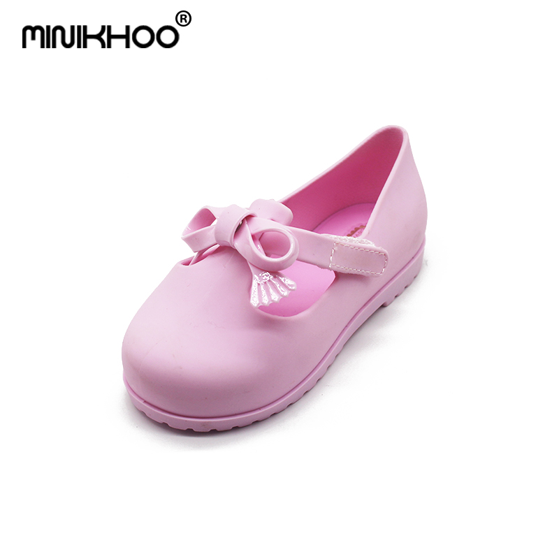Mini Melissa 2018 New Colors Jelly ChildrenS Shoes Fall Winter Leisure Shoes Anti-Skid Sandalia Melissa Jelly Beach Sandals