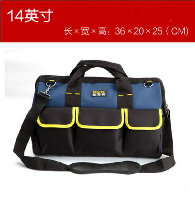 FASITE Tool Bag Combo WAIST BELT Organizer Professional Electricians Tool Pouch Tool Bag Blue td new design electricians waist pocket tool belt pouch bag screwdriver carry case holder outdoor working free shipping