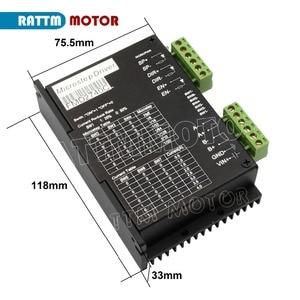 Image 4 - CNC 3 Axis Nema 23 stepper motor kit 112mm (Dual shaft) 425oz in & FMD2740C 50VDC Motor Driver & 4 axis USB port breakout board