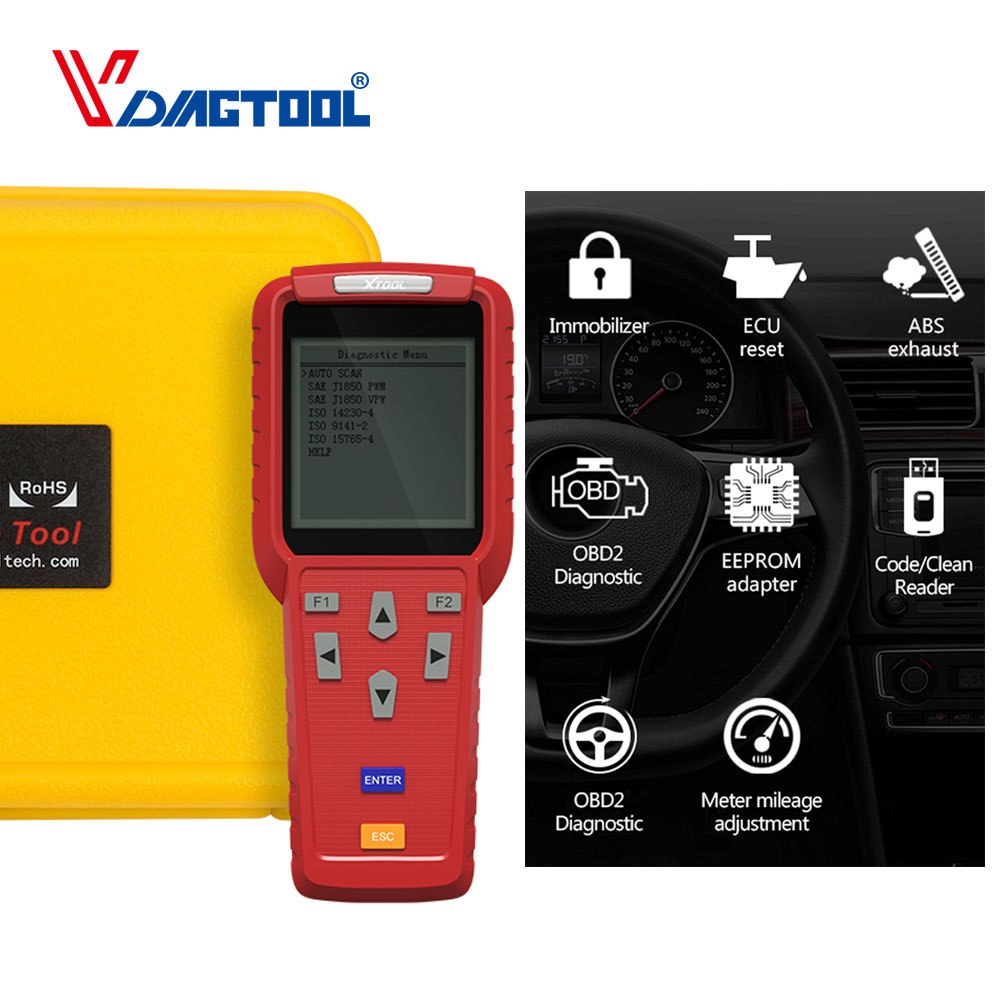Original Xtool X100 Pro Auto Key Programmer Online Update X 100 Pro Immobilizer Remote Control Matching Tool Eeprom Adapter