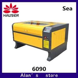 Kostenloser versand Laser CNC 6090 laser stecher maschine 100W co2 laser gravur maschine laser cutter maschine diyengraving maschine