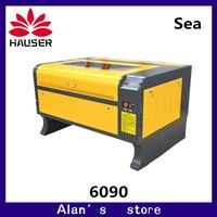 O envio gratuito de laser cnc 6090 máquina do gravador do laser 100 w co2 máquina de gravura do laser máquina do cortador do laser diygravura|Roteadores de madeira| |  -