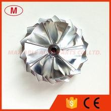 K04 5306-123- 5304-970-0064 51,03/61,98 мм 7+ 7 лопасти турбо Алюминий /фрезерный/Заготовки колеса компрессора для 53049700064