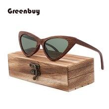 Gafas de sol polarizadas de madera para hombre y mujer, lentes de sol unisex de lujo, estilo retro, de marca de diseñador