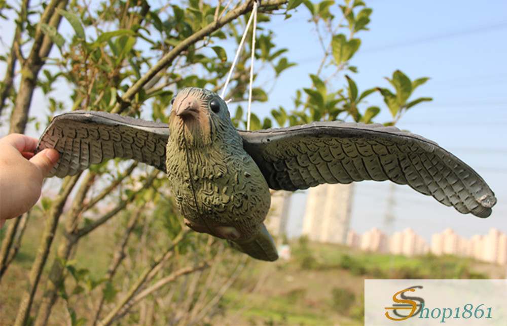 Flying Hawk Bird Scare Decoy Pest Control Garden Care Deter Scarer Wholesale QUAN MIAO