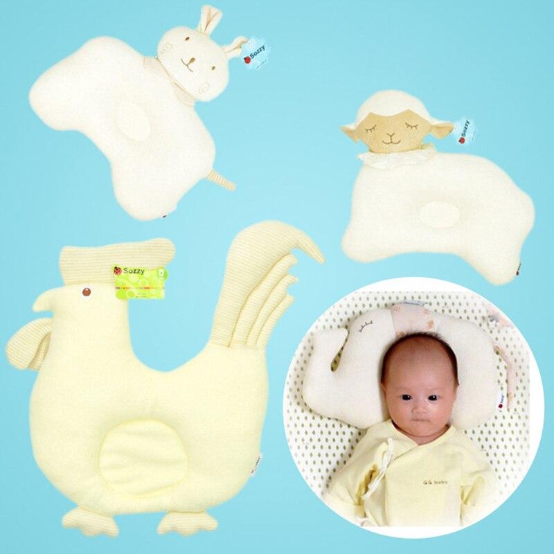 Baby Pillow Newborn Head Protection Cushion Children Cartoon Animal Styling Infant Nursing Bedding