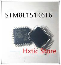 10PCS/LOT STM8L151K6T6 STM8L151 K6T6 8L151 QFP-32