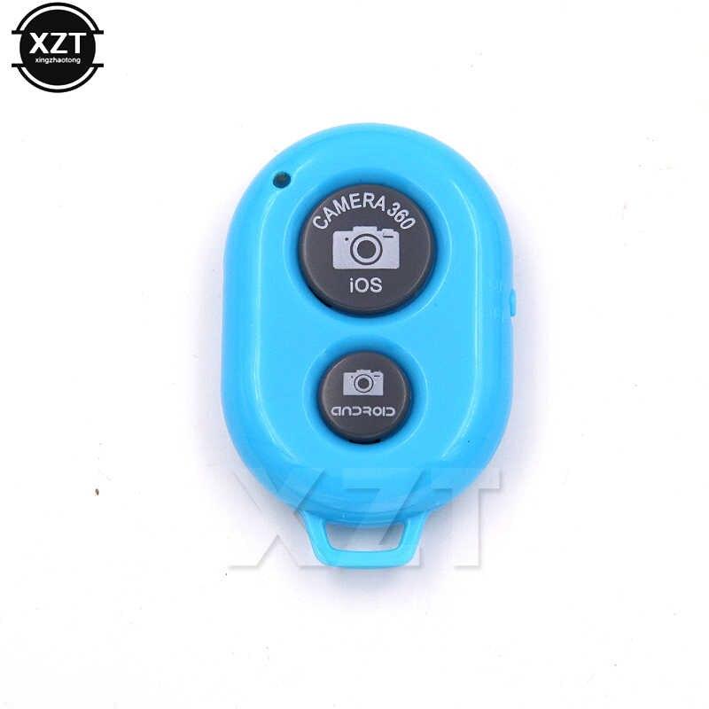 Bluetooth Rana Rilis Tombol untuk Selfie Aksesori Kamera Controller Adaptor Foto Remote Control untuk Selfie untuk iPhone X