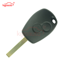 Remote key 2 button 434Mhz VA6 blade PCF7947 for Renault Clio Modus Twingo Kangoo kigoauto whatskey 1 button remote car key shell fob case cover for renault twingo clio master scenic kangoo vac102 blade replacement