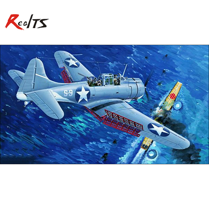 RealTS Trumpeter 02244 1 32 SBD 3 Dauntless MIDWAY CLEAR EDITION