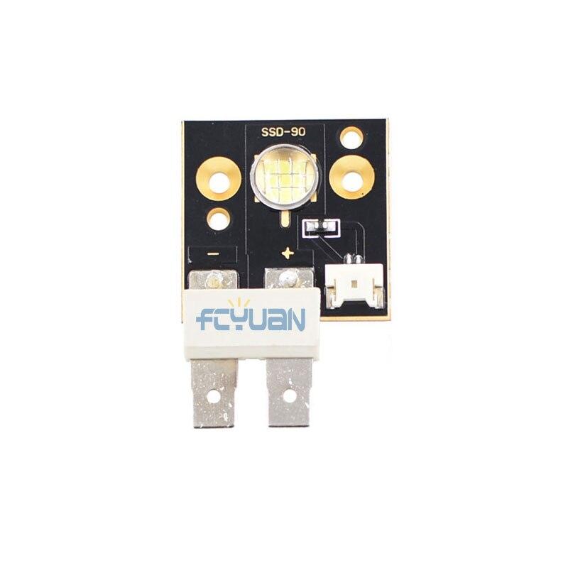 6PCS/Lot 75w Led Moving Head Light Source Led Module 6500k 3000 Lumen 75w Led Beam Moving Head Lighting Parts