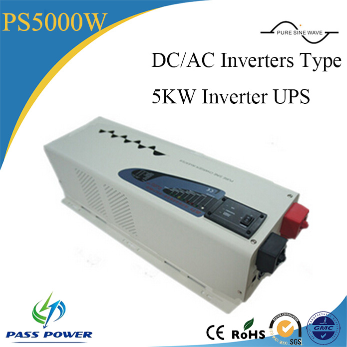 Single Output Type and DC/AC Inverters Type 5000w/5kw inverter with ups functionSingle Output Type and DC/AC Inverters Type 5000w/5kw inverter with ups function