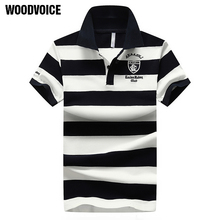 2018 High quality brand men polo shirt new summer casual striped cotton mens polo Contrast Color polo shirts polo male camisa 68