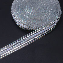 hot fix 15mm width rhinestone trimming 2yards lot fancy stone decorative  shinning shoes accessories 321b5aeaf353