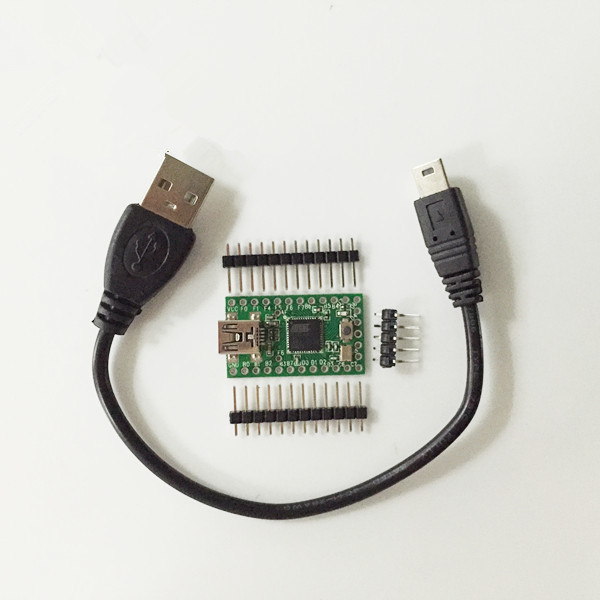 Teensy usb keyboard mouse avr for arduino isp board