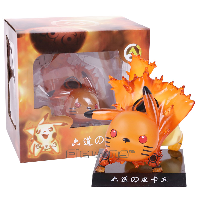Pikachu Cosplay NARUTO Ootutuki Hagoromo PVC Figure Collectible Model Toy аксессуары для косплея neko cosplay