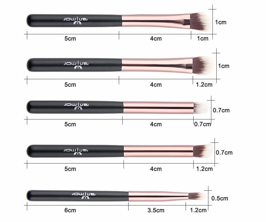 makeup brushes (8)