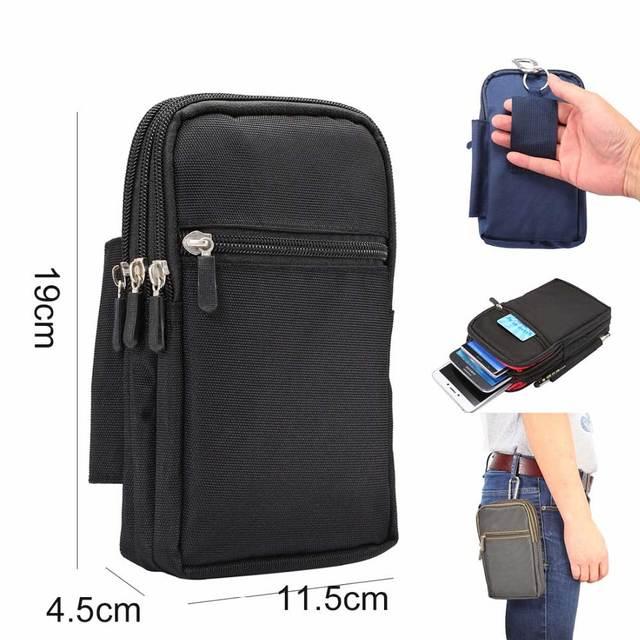 Супер большой размер телефон сумка Универсальный Открытый Чехол-сумка с отделением для денег для всех телефонов модель пояса чехол Кобура сумка открытый карман