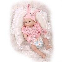 Nova adorável coelho do bebê cheio de silicone bebês reborn bonecas toys o melhor presente de aniversário presente para o miúdo criança bathe duche toys