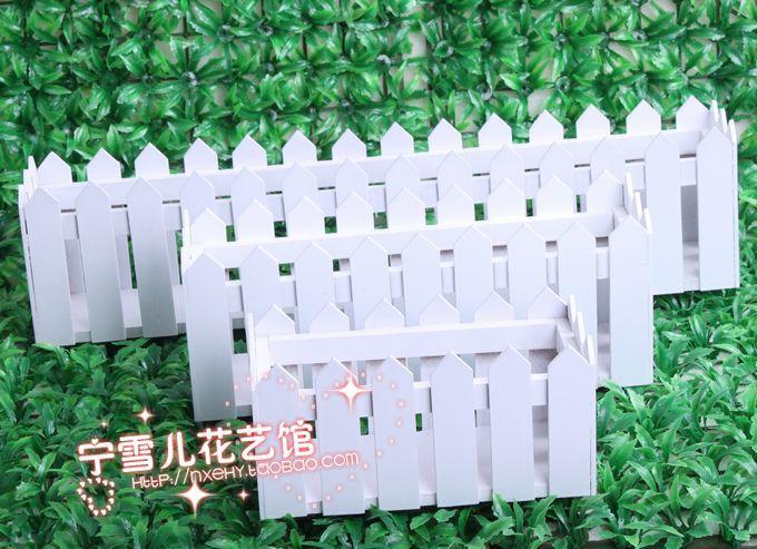 2015 Desktop decorativo caixa de flor artificial 20-30-50 cm branco - Decoração de casa - Foto 2